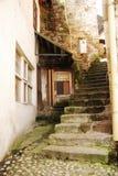 Calle en Jajce Imagen de archivo