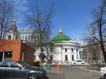 Calle en Kiev Imagen de archivo