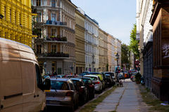 Calle en Kreuzberg Foto de archivo