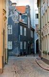 Calle en la ciudad vieja Fotos de archivo