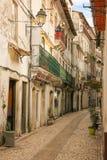 Calle en la ciudad vieja Coímbra portugal Fotografía de archivo
