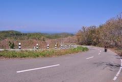 Calle en la colina superior en calle del sur de la carretera Foto de archivo