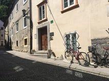 Calle en Ljubljana Fotografía de archivo libre de regalías