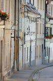 Calle en Ljubljana, Eslovenia Imagen de archivo libre de regalías