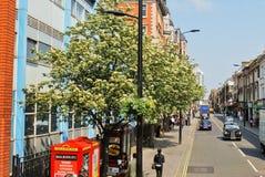 Calle en Londres imagenes de archivo
