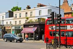Calle en Londres imagen de archivo