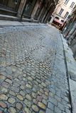 Calle en Lyon, Francia Imagen de archivo libre de regalías