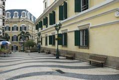 Calle en Macau Foto de archivo