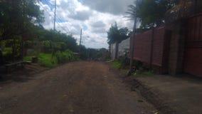 Calle en Managua. Nicaragua, street, natural, person, travel, centro, america stock photography