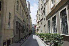 Calle en medio Foto de archivo libre de regalías