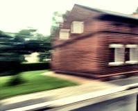 Calle en movimiento Fotografía de archivo