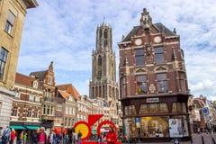 Calle en Nederland Fotos de archivo libres de regalías