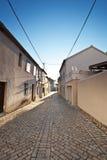 Calle en Nin, Croatia Imagenes de archivo