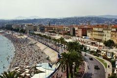 Calle en Niza Imagenes de archivo