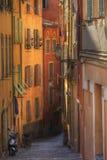 Calle en Niza Fotografía de archivo libre de regalías