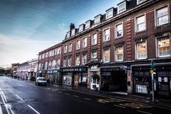 Calle en Oxford Imágenes de archivo libres de regalías