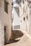 Calle en Pampaneira, Andalucía, España Fotografía de archivo