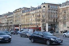 Calle en París Imagenes de archivo