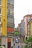 Calle en Santander Zdjęcie Stock