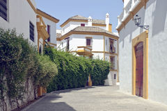 Calle en Sevilla Foto de archivo