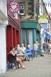 Calle en Skipton Foto de archivo libre de regalías