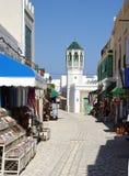 Calle en Túnez Imagenes de archivo