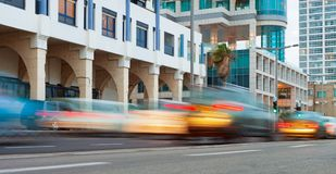 Calle en Tel Aviv Imágenes de archivo libres de regalías