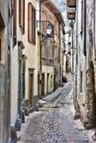 Calle en Tende Fotografía de archivo libre de regalías