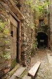 Calle en Triora Imagen de archivo libre de regalías