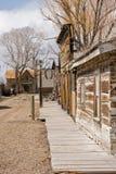 Calle en un pueblo fantasma Foto de archivo libre de regalías