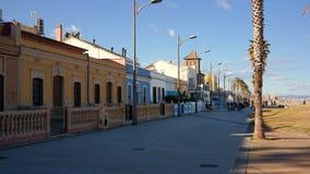Calle en Valencia Imagen de archivo libre de regalías