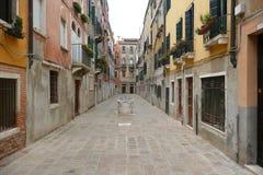 Calle en Venecia Fotos de archivo