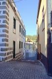Calle en Vilaflor, Tenerife, islas Canarias Imagen de archivo libre de regalías