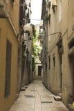 Calle en zadar Imagenes de archivo