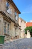 Calle en Zagreb fotografía de archivo libre de regalías