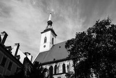 Calle Eslovaquia de Bratislava Imagen de archivo libre de regalías