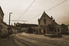 Calle Eslovaquia de Bratislava Fotos de archivo libres de regalías