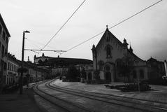 Calle Eslovaquia de Bratislava Fotografía de archivo libre de regalías