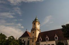 Calle Eslovaquia de Bratislava Imagenes de archivo