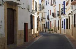 Calle española Imagen de archivo