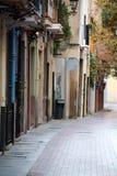 Calle española Fotos de archivo libres de regalías