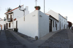 Calle española imagenes de archivo