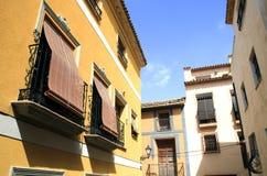 Calle española en Polop Fotografía de archivo