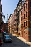 Calle estrecha Fotos de archivo libres de regalías