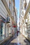Calle estrecha Fotografía de archivo libre de regalías