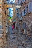 Calle estrecha Imagen de archivo libre de regalías