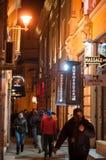 Calle estrecha Fotos de archivo