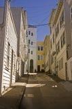 Calle estrecha de San Francisco Foto de archivo
