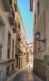 Calle estrecha vieja Fotos de archivo