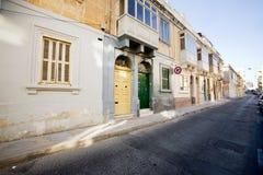 Calle europea Fotografía de archivo libre de regalías